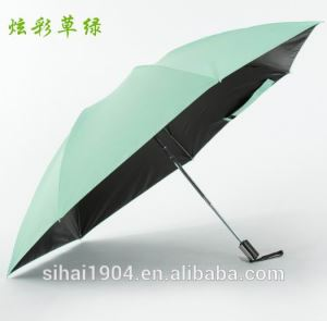 Shenzhen Factory Innovative Products Custom Printed 3 Auto Open and Close Foldable Reverse Inverted Umbrellas for Travel