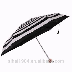 Best Selling Custom Cheap Manual Open 5 Fold Rain and Sun Umbrellas for Ladies