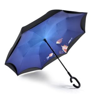 Custom Portable Upside Down Umbrella