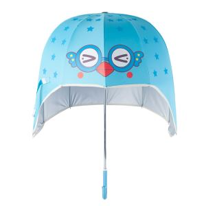 Fashionable Helmet Umbrella With Cute Printed For Kid