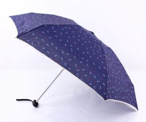 Flat Folding Umbrella Pocket Size