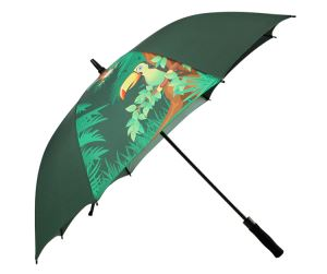 Gift Advertising Golf Rain Umbrella Custom Logo For Sale