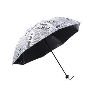 Paper Telescopic Umbrella With Sleeve Pouch