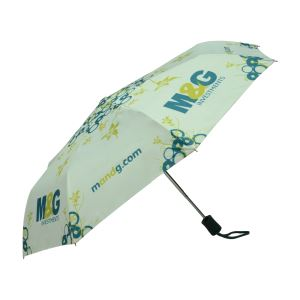 Chinese Customized Digital Printing 3 Folding Gift Promotional Umbrellas