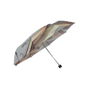 Heat Transfer Print Pocket Size Foldable Umbrellas Travel