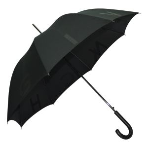 High Quality Promotional Gift Black Straight Umbrellas