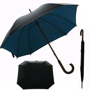 Solid Double Layers Square Umbrella