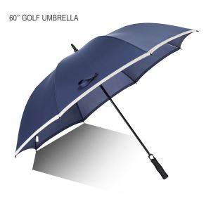 60 Inch Large Auto Open Rain UV Protection Umbrella
