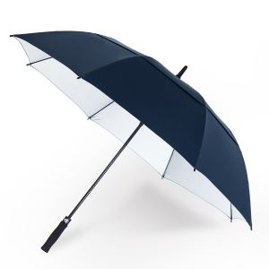 Anti UV Sun Protection Double Canopy Rain And Sun Umbrellas