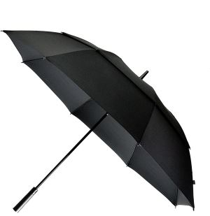Double Canopy Umbrella 62 Inch Coverage With Automatic Open