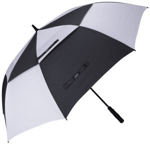 Double Canopy Vented Windproof Waterproof Sun Protection Stick Umbrellas