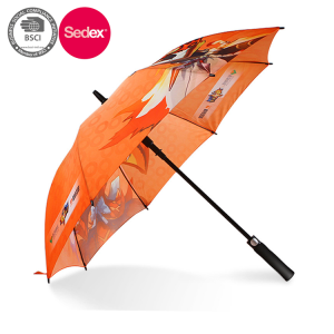 Manufacturer Supply Chromatic Straight Umbrella