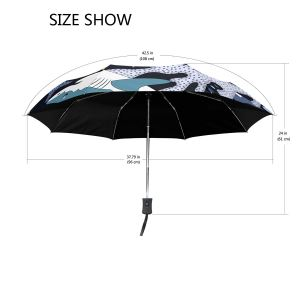 Shark And Starfish Marine Life Vinyl Umbrella