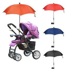Stretchable Baby Pram Stroller Chair Umbrella Bar Holder Mount Stand, Bicycle Umbrella