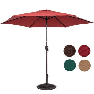Umbrella Table Market Umbrella With Crank Lift