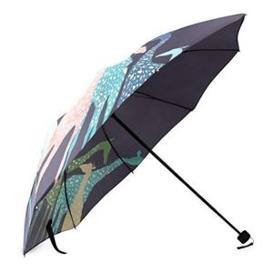 Valentine's Day Novelty Gifts Presents Cute Giraffe Design Foldable Umbrella
