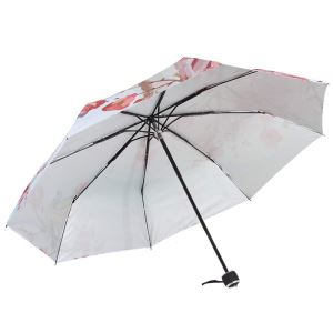 Windproof Travel Folding Lightweight Portable Parasol Umbrella